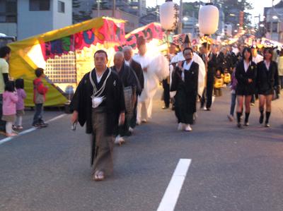 酒田まつり2009前夜祭の日吉町