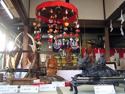 酒田まつり2009年(創始400年本年祭)上神宿の宝物:伏見稲荷神社社務所