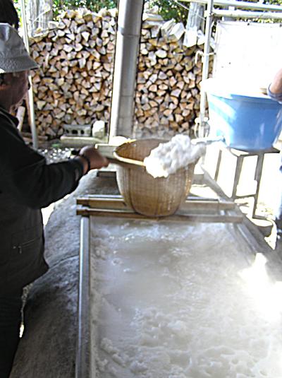 七夕村の塩づくり