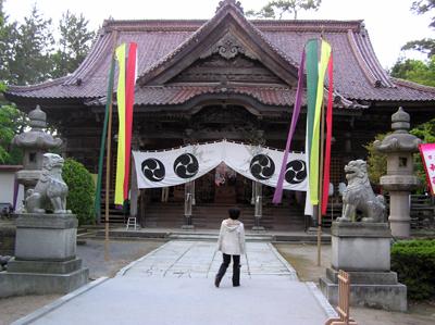 酒田まつり2009前夜祭の下日枝神社