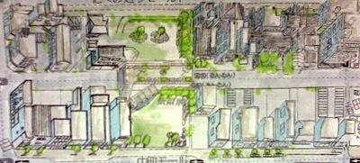 都市のノーテーション:完成した鳥瞰図