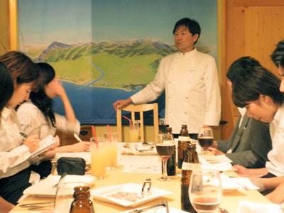 酒田スタディツアー2009:アル・ケッチァーノ奥田シェフ